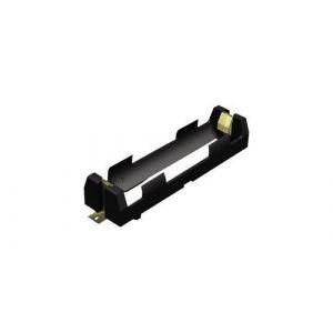 Support pile 1x 18650 Keystone 1042 montage en surface CMS (L x l x h) 86 x 20.65 x 14.86 mm