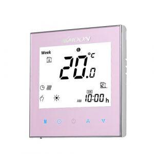 KKmoon Digital Thermostat De Chauffage De L'eau Économie D'énergie AC 95-240V 5A Toucher Écran LCD Affichage Contrôleur De Température Ambiant