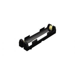 Support pile 1x 18650 Keystone 1043 montage THT (L x l x h) 77 x 20.65 x 14.86 mm