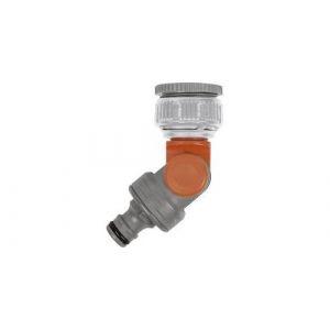 Raccord de robinet GARDENA 998-50 raccord enfichable, 30,3 mm (1) (filet int.), 24,2 mm (3/4) (filet int.) Vinkel