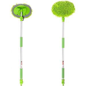 ProPlus brosse de lavage Chenille avec manche télescopique 2,50m vert
