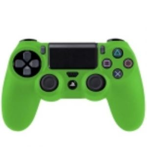 PS4 Coque Housse Silicone Manettes Vert