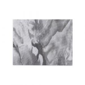 Adhésif décoratif pour meuble effet marbre Carrare - 200 x 45 cm - Gris