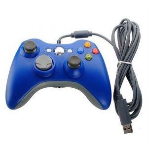 Manette filaire Bleu pour Xbox360/PC SUVOM