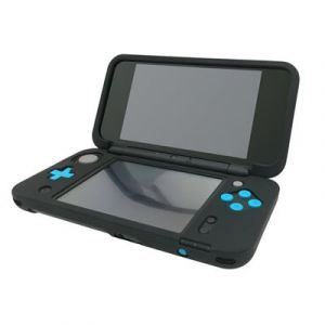 Housse étui protection silicone pour Nintendo NEW 2 DS XL (NEW 2DS LL) - Anti choc / rayures - Noir - Straße Game ®