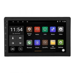 2Din Autoradio, 7 Pouces WIFI Multimédia Bluetooth Stéréo Voiture MP3 MP4 MP5 Support GPS, USB, TF, FM