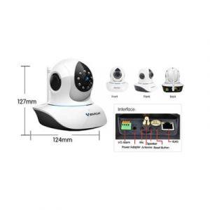 MC-IPD1M-WE - Caméra IP Dôme HD 720 P motorisée d'interieur jour et nuit WIFI