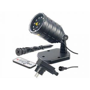 Projecteur laser télécommandé à 12 LED et 8 effets lumineux LP-500