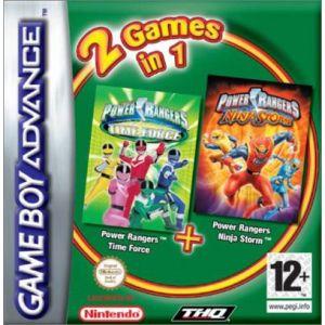 Power Rangers - Ninja Storm + Power Rangers - Time Force