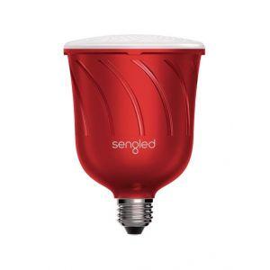 Ampoule connectée Sengled Pulse Satellite Rouge avec enceintes JBL 13 W