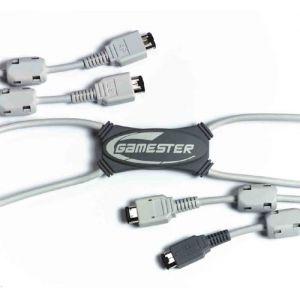 Gamester Câble Link 4 joueurs pour Game Boy Advance