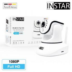 Pack de 3 INSTAR IN-7011 HD Caméra IP de Sécurité PoE Dôme extérieur Détection de Mouvement Motorisée P2P