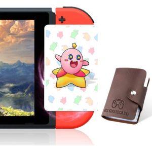 5 pièces Cartes de jeu NFC pour Splatoon 2 compatible avec Nintendo Switch/Wii U avec porte-cartes