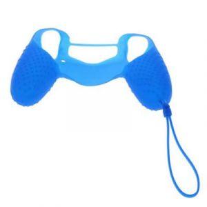 Housse de Protection en Silicone pour Manette PS4 Bleu