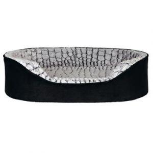 Trixie Vital lit Lino 110 à 92 cm noir/gris