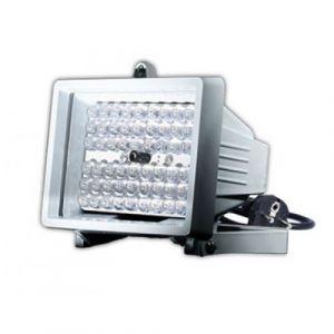 INSTAR IN-905 V2 Illuminateur infrarouge externe Projecteur 850nm avec 60 LEDs IR fortes Blanc