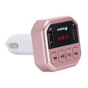 Car FM Voiture Bluetooth Lecteur MP3 FM Player mains libres double ports USB chargeur