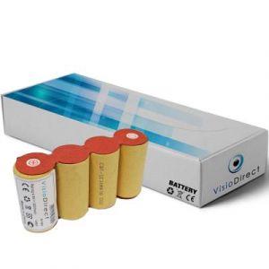 Batterie pour Karcher k50 4.8V 2000mAh Balai électrique - Visiodirect -