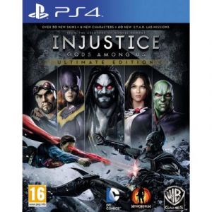Injustice: Gods Among Us Ultimate Edition Ps4 - [ Import Espagne ]