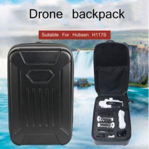 Noir PC Hard Shell Sac à dos Sac Pour Hubsan H117S Quadcopter