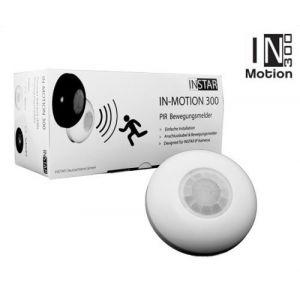 INSTAR IN-Motion 300 Détecteur de mouvement PIR externe 12V 3A Plug & Play Blanc