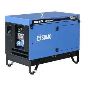 Sdmo - Groupe électrogène chantier Diesel 9Kw Silencieux (démarrage électrique) 11.25Kva - DIESEL 10000 E SILENCE AVR