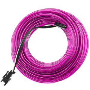 Fil électroluminescent Violet 2.3mm bobine 25m