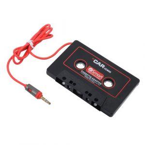 Adaptateur Cassette 3.5mm Jack AUX Voiture Audio lecteur mp3 CD iPhone sur lecteur de cassettes audio