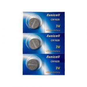 3 Piles Bouton Pkcell CR1620 - Pile Lithium 3V
