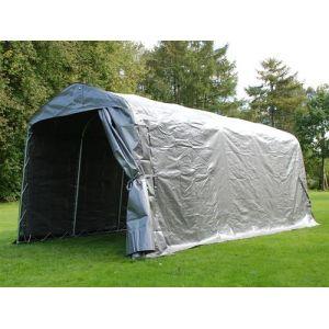 Tente de stockage Tente Abri PRO 2,4x6x2,34m PE, Gris