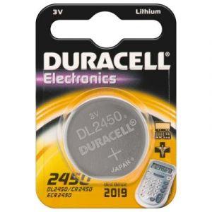 10 piles cr2450 (dl2450) duracell