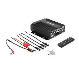 KKmoon MINI SD En Temps Réel Voiture Mobile DVR 4CH Audio/vidéo Input avec Télécommande Encrption