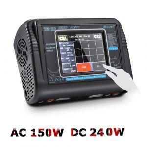 HTRC écran Susceptible Dual Channel RC Car batterie LiPo 1-6S Chargeur équilibreur
