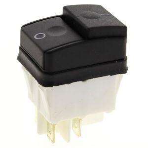 Interrupteur marche - arret 4 cosses pour Nettoyeur haute pression Ryobi, Nettoyeur haute pression Mac allister, Nettoyeur haute pression Annovi rever