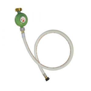 Détendeur gaz Propane 37 mbar + Tuyau gaz butane/propane flexible 1.50 m