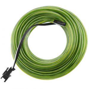 Forte verte fil électroluminescent 2.3mm bobine 25m
