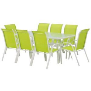 Salon de jardin Cordoba XL 180 - Phoenix - Vert Viva Green