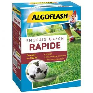 Algoflash engrais gazon action rapide - 4kg