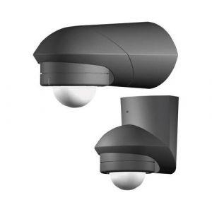 Grothe détecteur de Mouvement 120 ° 230 V, Aufputz, IP55, MC Guard Professional Line BM 120 SW Noir 5167042