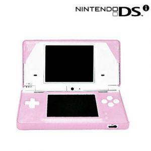 Housse étui protection silicone pour Nintendo DSi - Anti choc / rayures - Rose