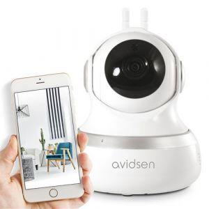 Caméra de surveillance intérieure Avidsen IP Wifi 720 P - 360° -