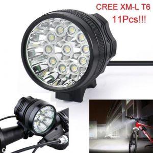 28000 Lm 11x T6 LED 3 modes lampe de vélo bicycle Lumière Phare Vélo torche