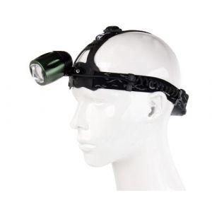 Lampe-torche rotative de phare de zoom du gradateur 800LM LED, CREE T6, mode 3, lumière blanche, pour la randonnée / camping / escalade