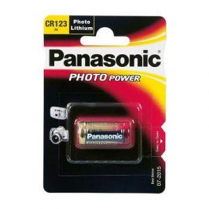 pile cr123a, 123, 16340, 2/3a, cr17345, cr17355, dl123 panasonic idéal pour les appareils photo