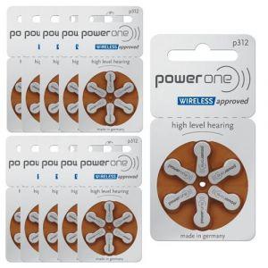 PowerOne 312 : Piles Auditives Sans Mercure