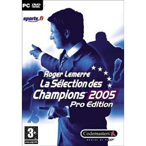 Roger Lemerre Pro Football Manager 2005