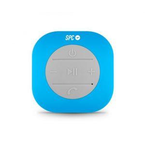 SPC Splash Haut-parleur Mono 3 W Cube Bleu, Gris