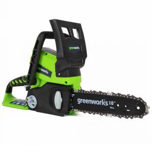 Greenworks Tools 2000007 Élagueuse Sur Perche Sans Fil 24 V Lithium-Ion