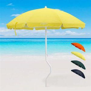 Parasol de plage GiraFacile 200 cm coton pêche ARTEMIDE, Couleur: Jaune
