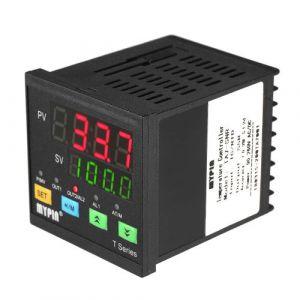 Contrôleur de température, KKmoon -199 ~ 1800 ° C Thermomètre Automatique Digital PID Affichage LED Double SNR 1 Entrée de Relais d'Alarme TC / RTD d'Entrée